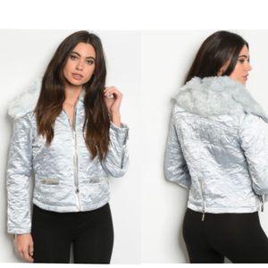Silver Jacket NWT